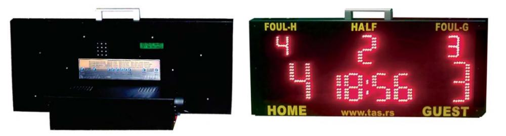Prenosni semafor za futsal