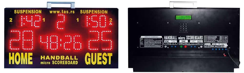 Prenosivi micro semafor za rukomet