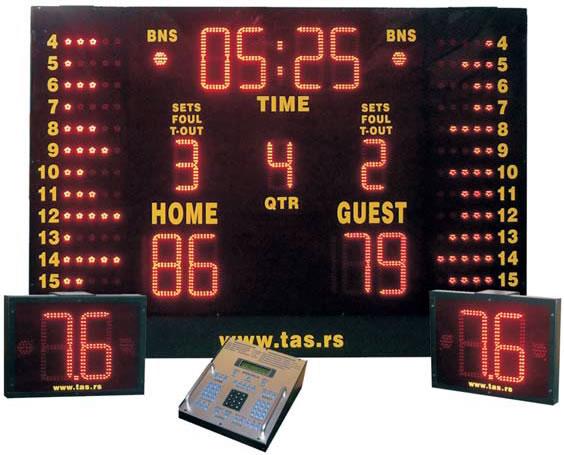 Univerzalni sportski semafor za školske i sportske objekte