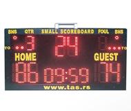 Prenosni košarkaški semafor za utakmice i treninge
